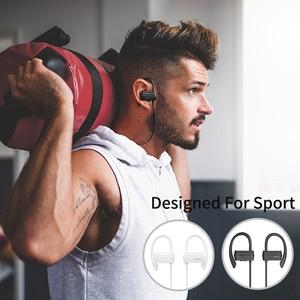 Image 2 - GGMM W600 אלחוטי אוזניות Bluetooth ספורט עמיד למים אוזניות עם מיקרופון רעש מבטל ריצת Sweatproof