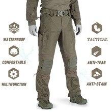 Mens Camouflage Cargo Pants Elastic Multiple Pocket Military Male Trousers Outdoor Sport Pants Plus Size Tactical Pants Men