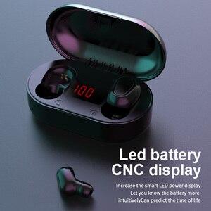 Image 3 - מיני TWS אלחוטי אוזניות ספורט HIFI אוזניות רעש ביטול אוזניות אלחוטי אוזניות מים הוכחת אוזניות