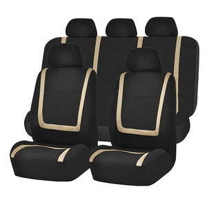 Image 2 - אוטומטי מכונית אביזרי רכב סטיילינג אוניברסלי גודל רכב מושב מגן מחצלת כרית בד רכב מושב מכסה רכב מכסה עבור Bmw אאודי פולקסווגן