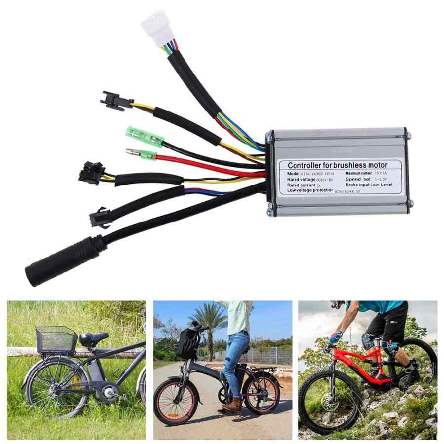 36 V/48 V 250 W/350 W חשמלי אופני בקר 6 צינור 15A בקר לאופניים חשמליים אופניים קטנוע Brushless מנוע חלקי
