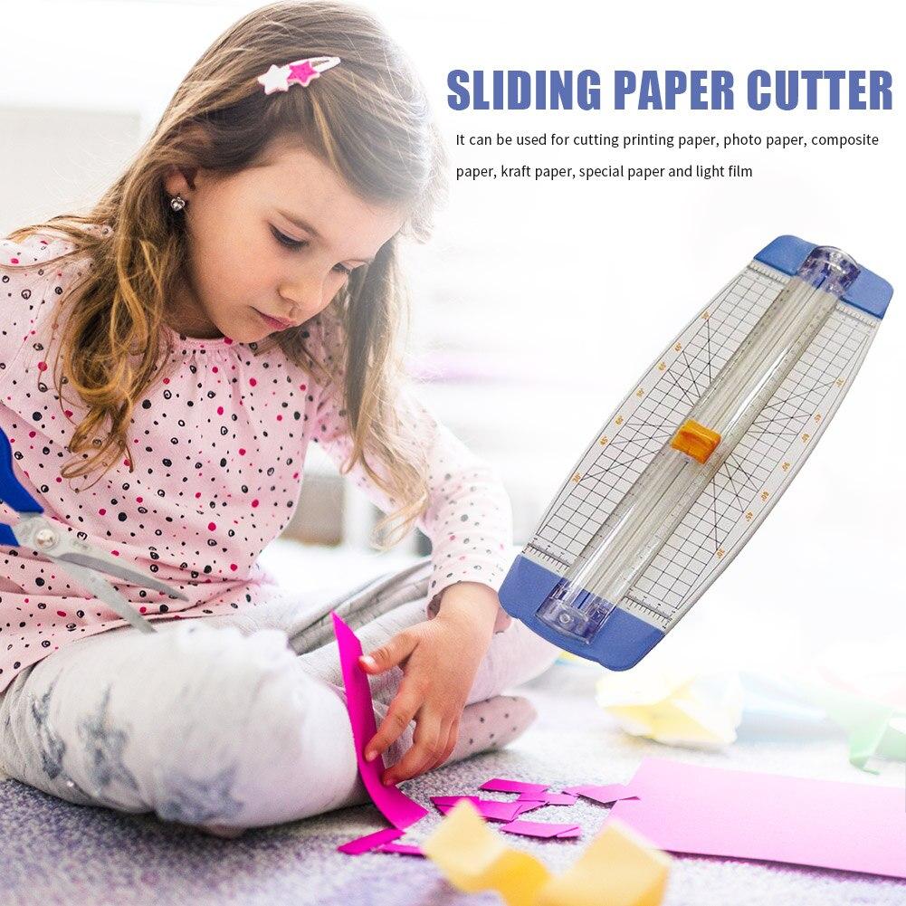 A4 Slide Paper Cutter Trimmer Die Machine Scrapbooking Cutting DIY Photo Spare Album Office Home School Stationer