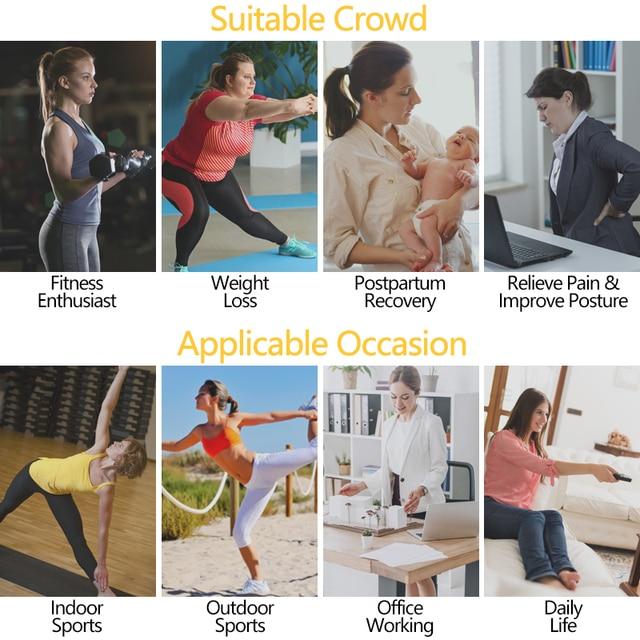 VASLANDA Women Weight Loss Waist Trainer Body Shaper Tummy Control Abodmen Trimmer Belt Shapewear Sweat Girdle Underbust Corset 4