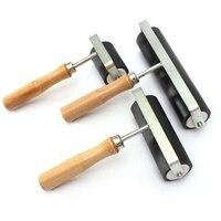 1Set 3 Größen 5/10/15Cm Heavy Duty Hard Gummi Roller Druck Tinte Lino Künstler Kunst handwerk Werkzeug Farbe Werkzeug Sets-in Mal-Werkzeugset aus Werkzeug bei