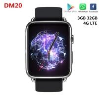 DM20 4G LTE Smart Watch Support SIM card 3GB RAM 32GB ROM 1.88inch IPS Screen GPS Wifi 780mAh Li-Battery MT6739 Smartwatch