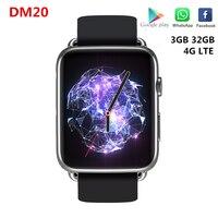 DM20 4G LTE Smart Watch Support SIM card 3GB RAM 32GB ROM 1.88inch IPS Screen GPS Wifi 780mAh Li Battery MT6739 Smartwatch