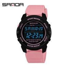 SANDA – montres de sport pour femmes, numérique, à la mode, 6003