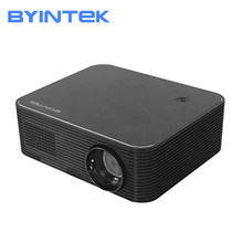 BYINTEK księżyc K15 real full hd 1080P z androidem WIFI projektor LED 1920x1080 wideo LCD dla Iphone SmartPhone(China)