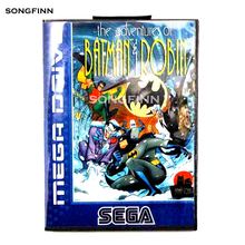 16 Bit Md Scheda di Memoria con La Scatola per Il Sega Mega Drive per Genesis Megadrive Le Avventure di Batman & Robin ue