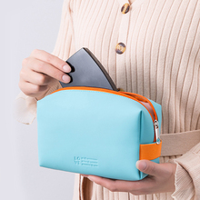 DAODAO PU Waterproof Cosmetic Bag Travel Portable Storage Bag Small Multi-Color Optional Large-Capacity Toiletry Bag 2020 Newest optional drone bag