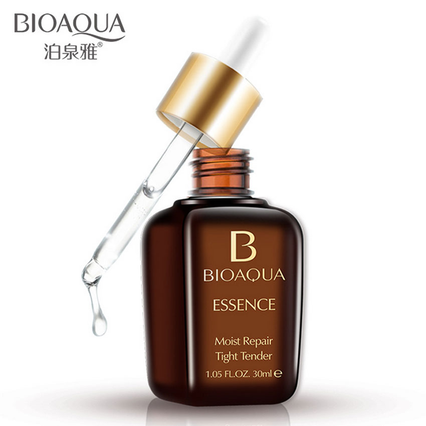 Bioaqua Beauty Moist Repair Essence Dew Serum Moisturizing Whitening Pores Tight Tender Brighten Skin Oil Control Miracle Glow