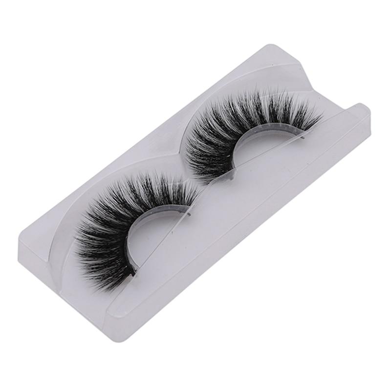 Модные натуральные длинные накладные ресницы высокого качества 3D норковые ресницы макияж Поддельные глаза клей для ресниц ручной работы