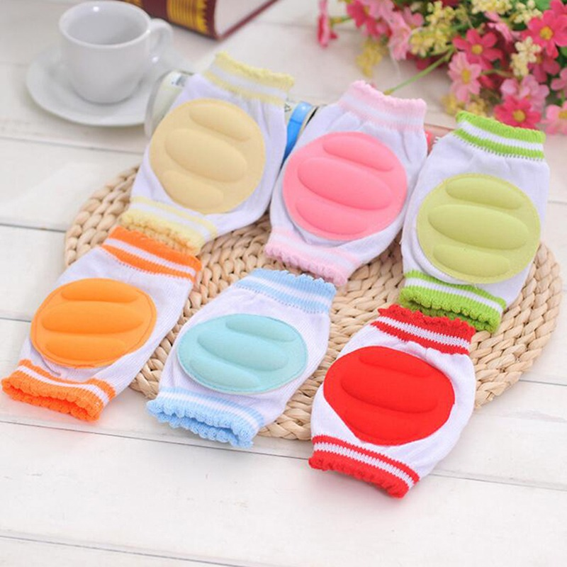 6 Colors Hot Fashion Safety Crawling Elbow Cushion Infants Toddlers Baby Knee Pads Protector Leg Baby Kneecap For Kid