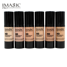 IMAGIC 6 Color Professional Whitening Moisturizing HD Liquid Foundation Concealer Highlight Shadow Makeup Cosmetic BB cream