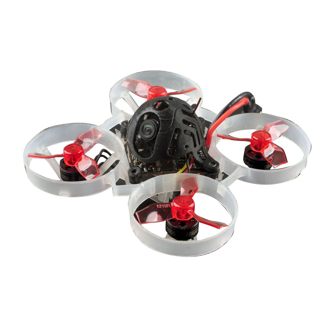Mini FPV Racing Drone Mobula6 Mobula 6 65mm Brushless Bwhoop FPVAIO <font><b>4in1</b></font> Crazybee F4 Lite Runcam Nano3 12pairs Props No Battery image