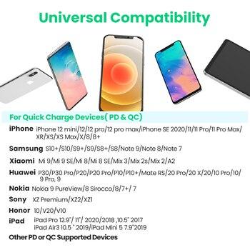 UGREEN PD быстрое зарядное устройство для iPhone 12 4