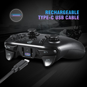Image 5 - EasySMX ESM 9110 Wireless Gamepad Joystick For PC Windows 10 Android Phone TV/TV Box PS3 Vibration LED Customized Buttons