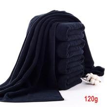 Черное банное полотенце из чистого хлопка, мягкое полотенце для ванной комнаты, отеля, машинная стирка, распродажа