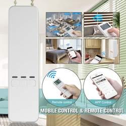 Nieuwe Smart Home Gemotoriseerde Keten Rolgordijnen Automatisering Kit Controle Met Afstandsbediening En Mobiele Controle Via Alexa/Google/ wifi