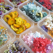Flower Necklace Pendant Craft Diy-Accessories Candle-Epoxy-Resin Jewelry-Making Dry-Plants