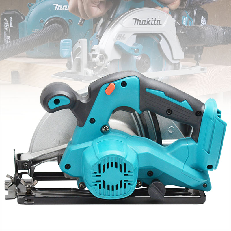 Tools : 180mm Electric Circular Saw Power Tools Dust Passage 5000RPM Multifunction Cutting Machine For Makita 18V Battery