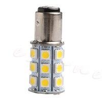 1157 BAY15D 27 SMD 5050 Tail Turn Signal 27 LED Car Light Bulb Lamp Warm white E7CA