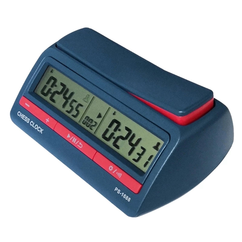 NEW-Advanced Chess Digital Timer Chess Clock Count Up Down Board Game Clock