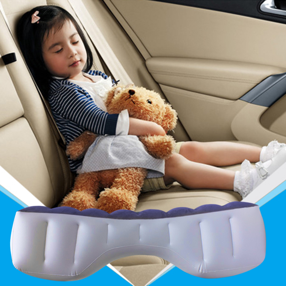 Car Air Mattress  Universal Rear Seat Cushion Multi-Function Automatic Inflatable Air Mattress Self-driving Tour Bed For Car use