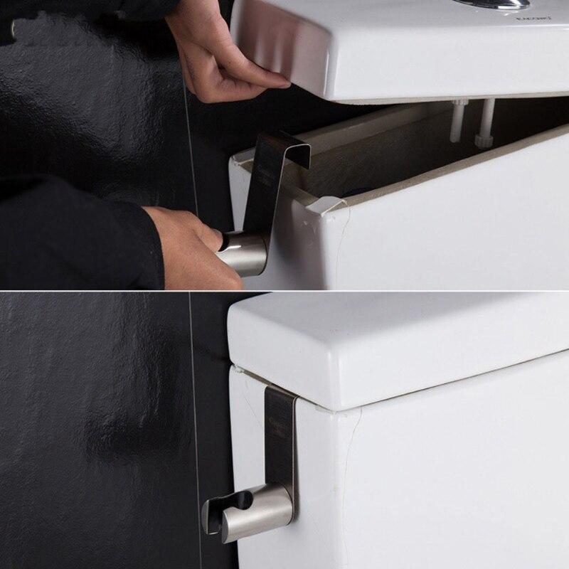Bidet Sprayer Holder Toilet Bathroom Attachment Hanging Bracket for Handheld Shower Wand, Diaper Sprayer (1pc)