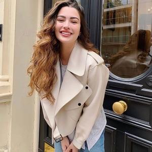 Ailegogo Neue Ankunft Winter Herbst 2020 frauen Leder Brieftasche Campera Chaqueta Cuero Mujer Modis Mantel Frauen Veste Cuir De couro