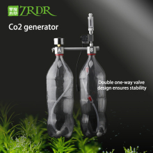 ZRDR аквариум DIY CO2 генераторная система комплект с регулировкой давления воздушного потока воды завод рыбы AquariumCo2Valve диффузор
