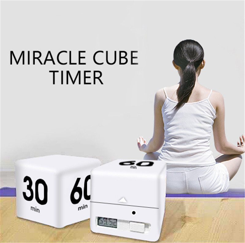 Miracle cube timer kitchen alarm clock yoga timer nap reminder|Alarm Clocks|   - AliExpress
