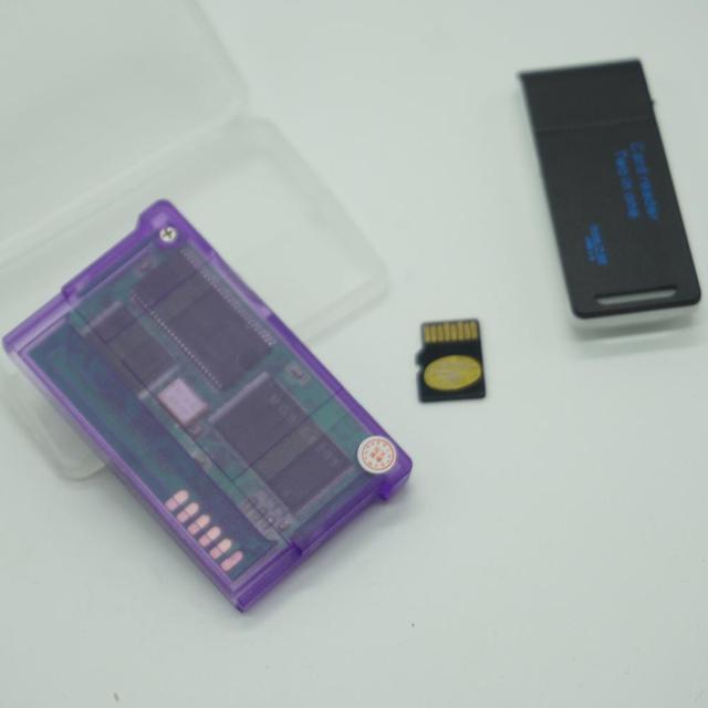 TF بطاقة نسخة دعم ل GameBoy مقدما بطاقة الألعاب لعبة خرطوشة ل GBA SP ألعاب متعددة مع بطاقة 2g
