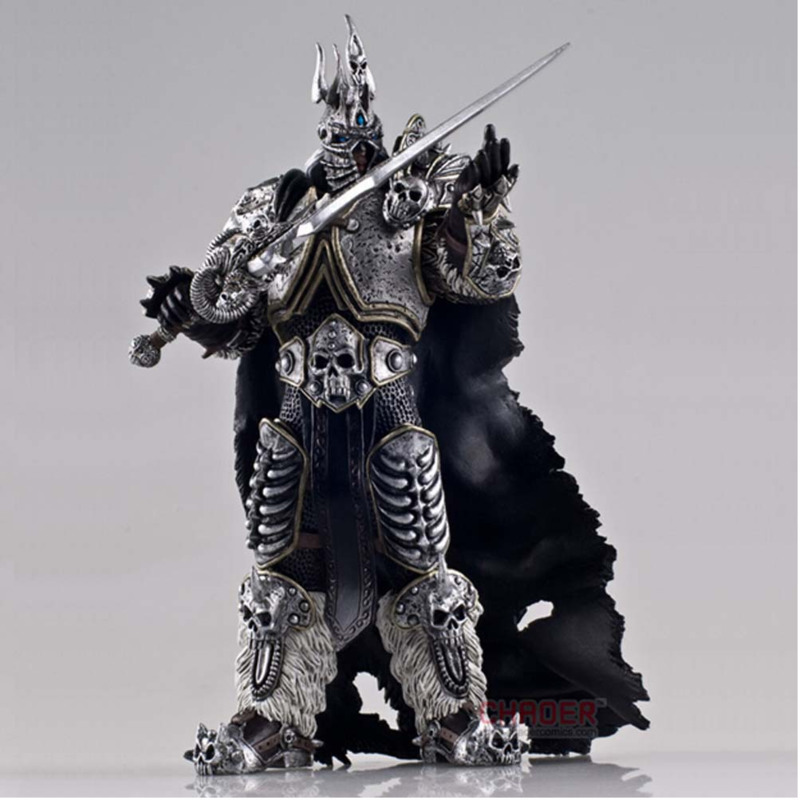 Game-Figure Alsace-Model World-Of-Warcraft 7inch Collectible King Hand-Do Lich Cartoon