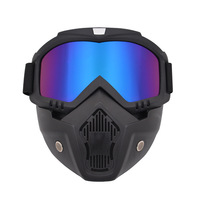 Anti-Fog Winddicht Winter Sportbril Ski Masker Zonnebril Bril Off-Road Bril Motorbril & T8