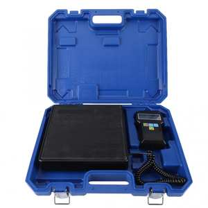 Scale-Charging Digital-Weight-Scale Refrigerant 220lb/100kg Professional with Case