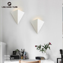 Modern LED Wall Lamps Bedside Lights Creative Wall Lamps for Living Room Bedroom Study Room Hotel Deco light Indoor Wall Lights