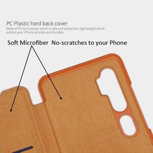 Image 3 - Nillkin Qin Book Flip Leather Case Cover For Xiaomi Mi Note 10 Pro Mi10