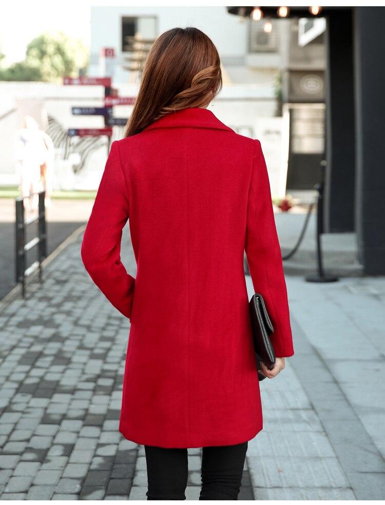 YICIYA Winter autumn Coat Women Wool Jacket Long Oversized Coats Plus Size Large Black Blend Woolen Warm Outerwear 2019 Clothing 14