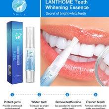 LANBENA 4 мл Стоматологическая лабораторная гелевая отбеливающая ручка с отбеливающими полосками для зубов простая в использовании отбеливатель зубов подарок для дантиста TSLM2