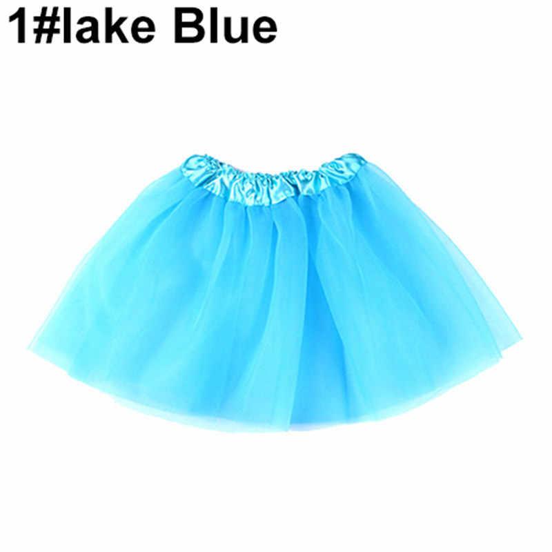 2019 nuevo estilo moda linda chica ropa para bailar de niño tul con lentejuelas princesa falda tutú de baile fiesta Pettiskirt