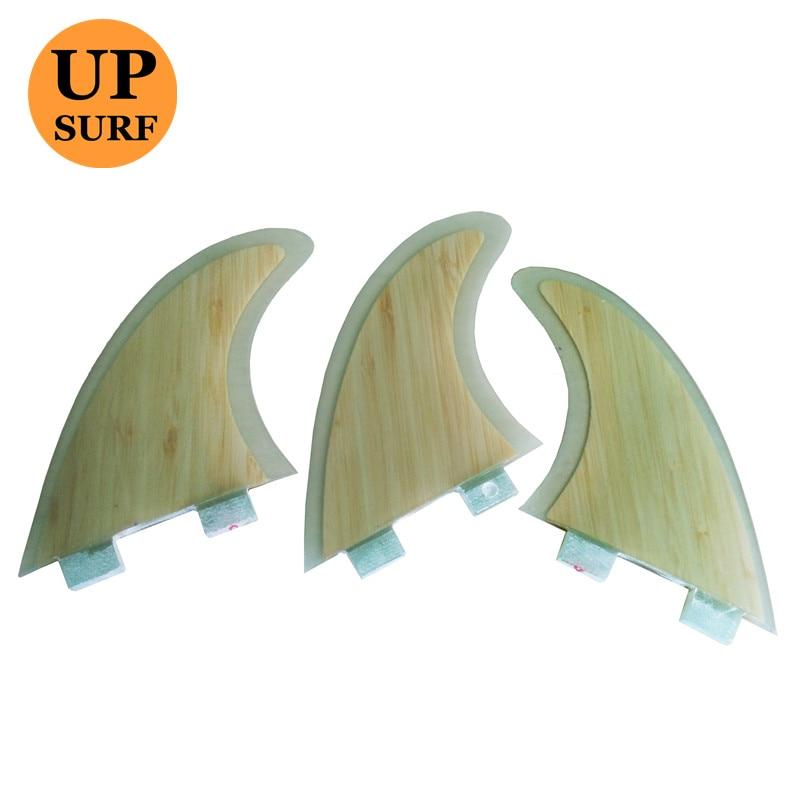 Surf Fin FCS G5 Bamboo Fibreglass Fins FCS Fins Surf Fin  Thruster Fins Upsurf Surfboard Prancha De Surf