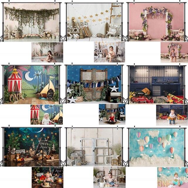 خلفية تصوير للأطفال حديثي الولادة ، خلفية لحفلة عيد الميلاد الأول ، استوديو الصور ، للأطفال والكبار