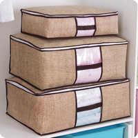 Colcha de almacenamiento para ropa, bolsa de almacenamiento plegable debajo de la cama, organizador de habitación de dormitorio