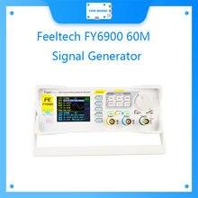Feeltech fy6900 60m 20m dds duplo-canal arbitrária forma de onda gerador de sinal de função de pulso com alta qualidade