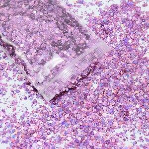 Image 5 - 500 g/saco brilhante brilho em pó sparkles fosco prego lantejoulas paillettes decorações da arte do prego flocos de unhas manicure glitter ft43novo