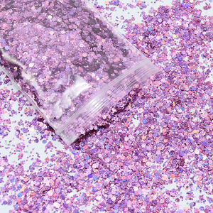 Image 5 - 500 g/zak Shiny Glitter Poeder Sparkles Matte Nail Pailletten Pailetten Nail Art Decoraties Nail Vlokken Manicure Glitter FT43New