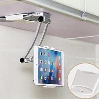 AZiMIYO Metal tablet stand kitchen Desktop ipad phone Holder for Used in kitchen wall hanging bathroom lazy bracket