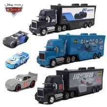 Машинки Disney Pixar «тачки 3 2», игрушка Молния Маккуин, Джексон шторм, Мак, металлические Литые машинки, игрушки для мальчиков, развивающие игруш...
