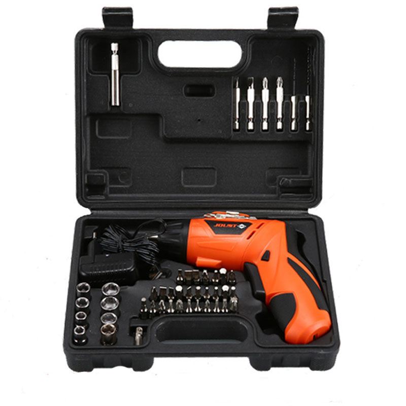 USB Toolbox 45 Pieces 110V 220 V Usb Lithium Battery Rechargeable Screwdriver Rechargeable Hand Drill